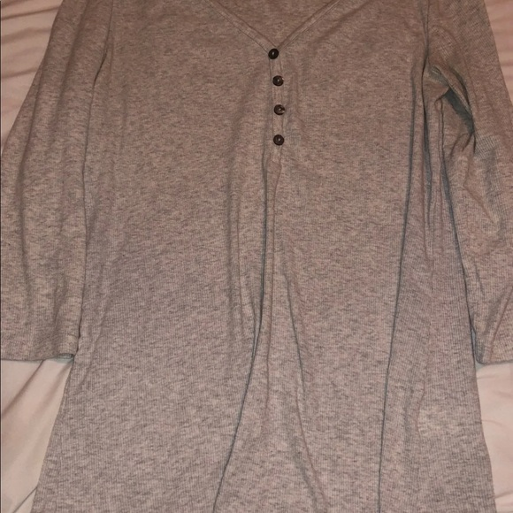Grey andBlack soft lounge tops. Only worn once!